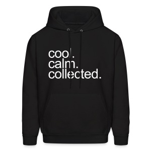 General - Cool, Calm, Collected - Men's Hoodie