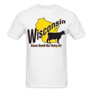 Wisconsin Dairy Air - Men's T-Shirt