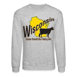 Wisconsin Dairy Air - Crewneck Sweatshirt