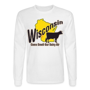 Wisconsin Dairy Air - Men's Long Sleeve T-Shirt