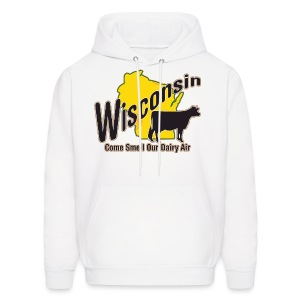 Wisconsin Dairy Air - Men's Hoodie