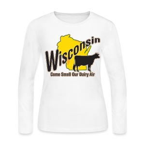 Wisconsin Dairy Air - Women's Long Sleeve Jersey T-Shirt