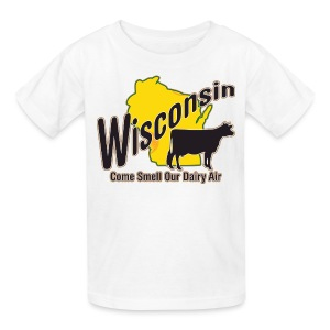 Wisconsin Dairy Air - Kids' T-Shirt