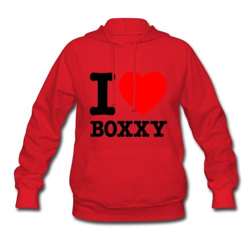 I HEART Boxxy - Women's Hoodie