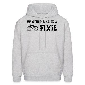 My Other Bike is a Fixie Men's Hoodie - Men's Hoodie