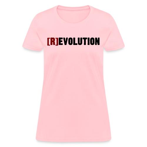 [R]evolution (Light Colors) - Women's T-Shirt