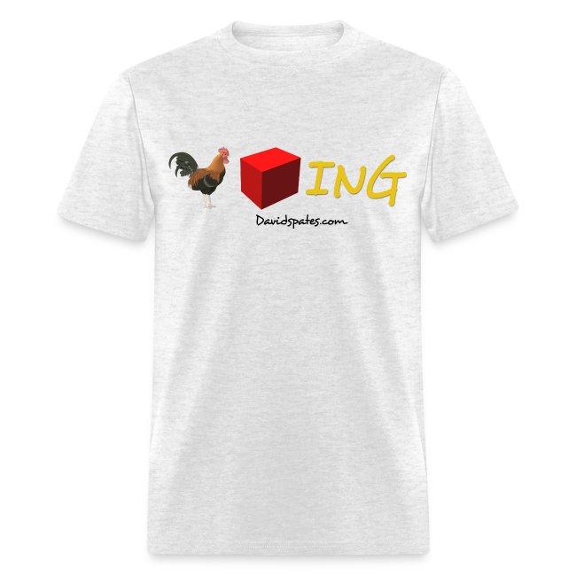 Cockblocking Symbols Color Men's Standard Weight T-Shirt