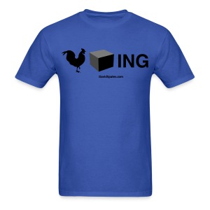 Cockblocking Symbols Men's Standard Weight T-Shirt - Men's T-Shirt