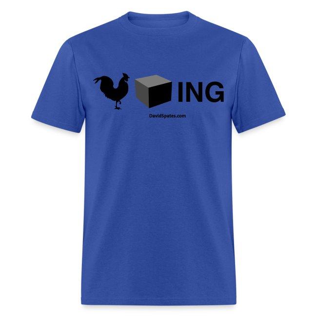 Cockblocking Symbols Men's Standard Weight T-Shirt
