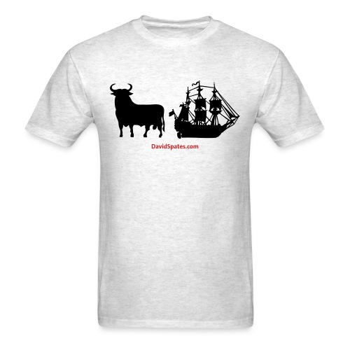 Bull Ship -  Men's Standard Weight T-Shirt - - Men's T-Shirt