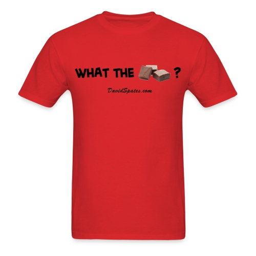 What the Fudge ?  - Men's Standard Weight T-Shirt - Men's T-Shirt