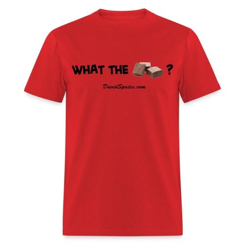 What the Fudge ?  - Men's Standard Weight T-Shirt - Men's T-Shirt