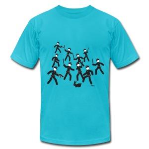 Cop Attack - Men's Fine Jersey T-Shirt