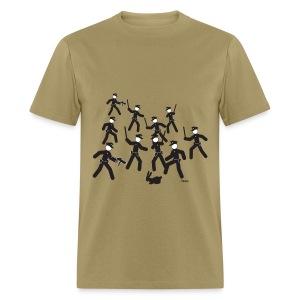 Cop Attack - Men's T-Shirt