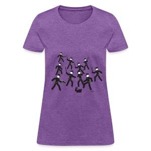 Cop Attack Women's T-Shirts - Women's T-Shirt