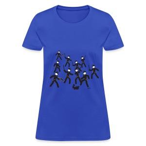 Cop Attack - Women's T-Shirt