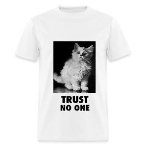 Trust No One - Men's T-Shirt