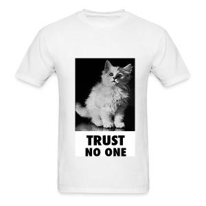 Trust No One - Men's T-Shirt