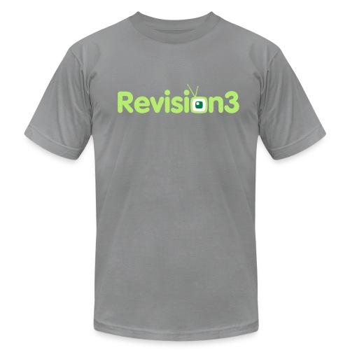 Men's Revision3 Logo American App. Tee - Men's  Jersey T-Shirt