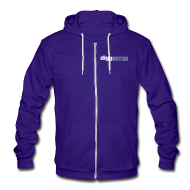 Zip Hoodies & Jackets ~ Unisex Fleece Zip Hoodie by American Apparel ~ DiggNation American Apparel Hoodie/Unisex