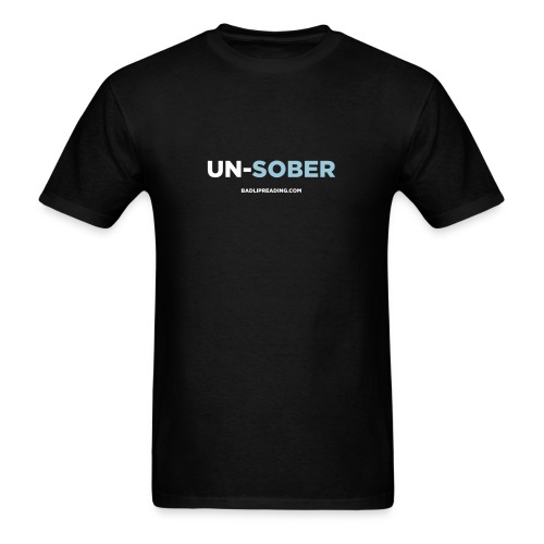 UN-SOBER - Men's T-Shirt
