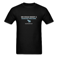 T-Shirts ~ Men's T-Shirt ~ RUSSIAN UNICORN