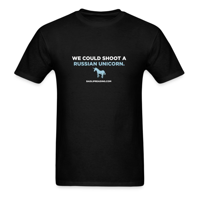 RUSSIAN UNICORN - Men's T-Shirt