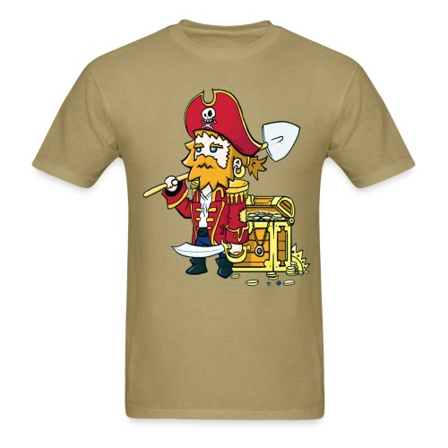 Pirate Patches - Men's T-Shirt