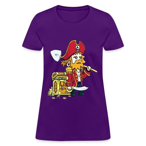 Pirate Patches women - Women's T-Shirt