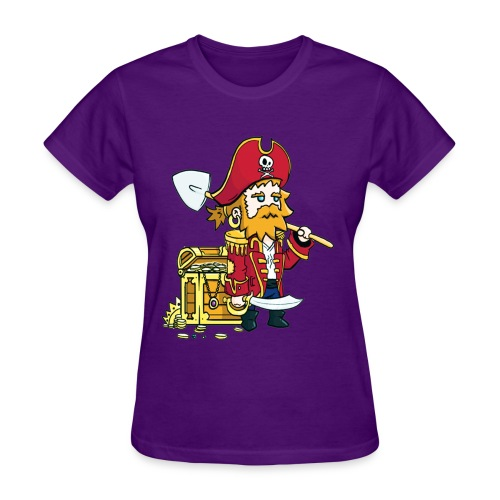 Pirate Patches women - Women's T-Shirt