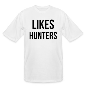 Likes Hunters - Men's Tall T-Shirt
