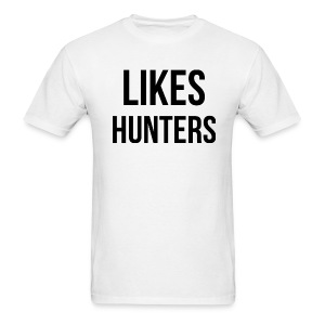 Likes Hunters - Men's T-Shirt