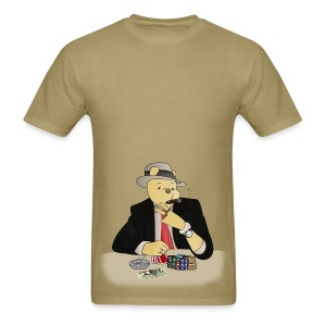 Poker Bear - Men's T-Shirt