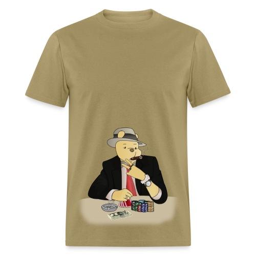 Poker Bear - Men's T-Shirt