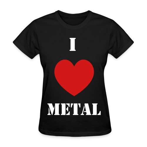 metal - Women's T-Shirt