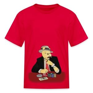 Poker Bear - Kids' T-Shirt