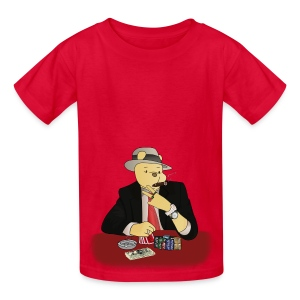 Poker Bear - Kids' T-Shirt