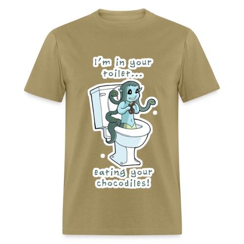 Toilet Medusa for men! - Men's T-Shirt