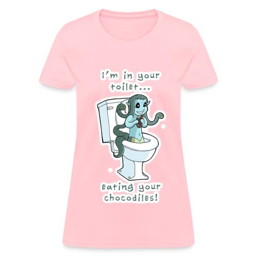 Toilet Medusa for women! - Women's T-Shirt
