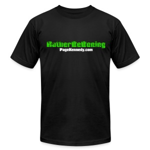 Rather Be Boning - Men's T-Shirt by American Apparel