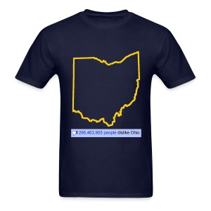 Dislike Ohio - Men's T-Shirt