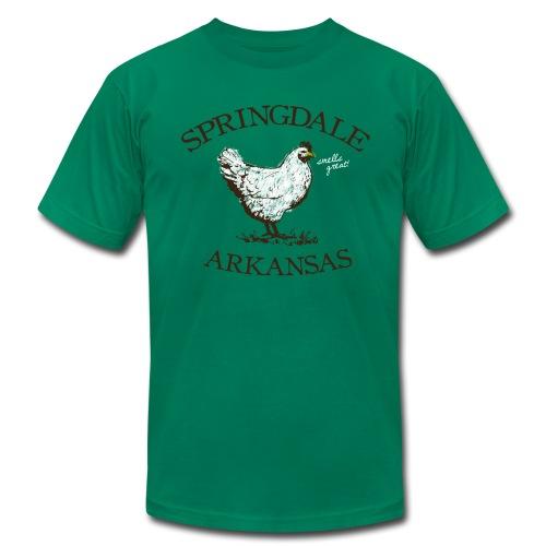 Springdale Smells Great! - American Apparel - Men's  Jersey T-Shirt
