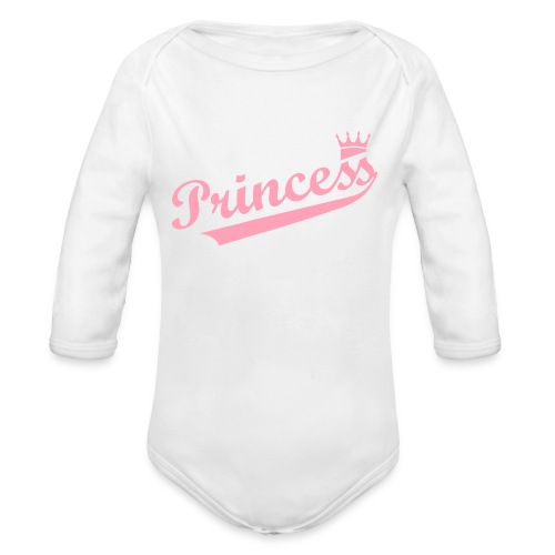 Princess Baby - Organic Long Sleeve Baby Bodysuit