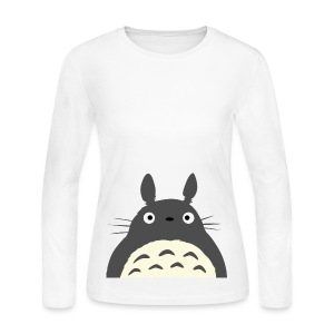 [MISC] Totoro - Women's Long Sleeve Jersey T-Shirt