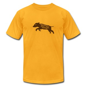 shirt baby wild boar hunter hunting forest animals nature pig rookie shoat - Men's T-Shirt by American Apparel