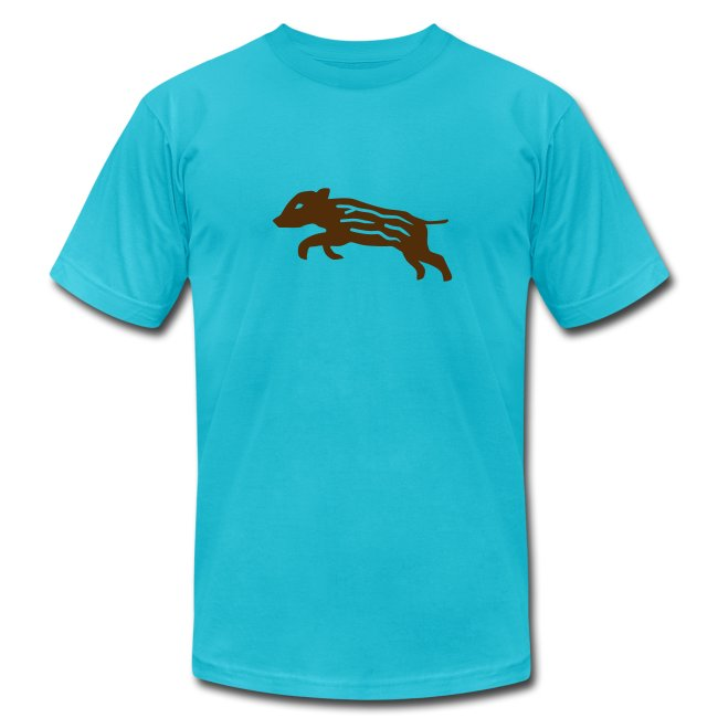shirt baby wild boar hunter hunting forest animals nature pig rookie shoat