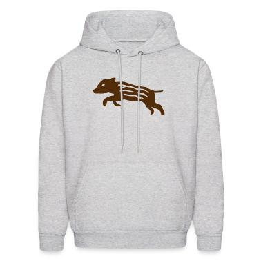 wild boar pig piglet baby youngster hog hunter hunting Hoodies