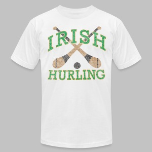 Irish Hurling - Men's T-Shirt by American Apparel