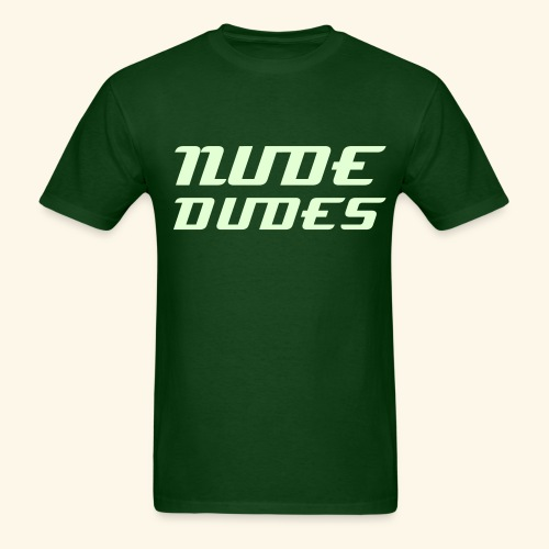 Nude Dudes Tee - Glow in the Dark **LIMITED EDITION** - Men's T-Shirt