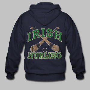 Irish Hurling - Men's Zip Hoodie